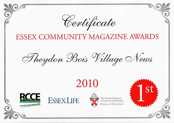Village News Award 2010