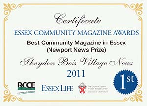 Village News Award 2011