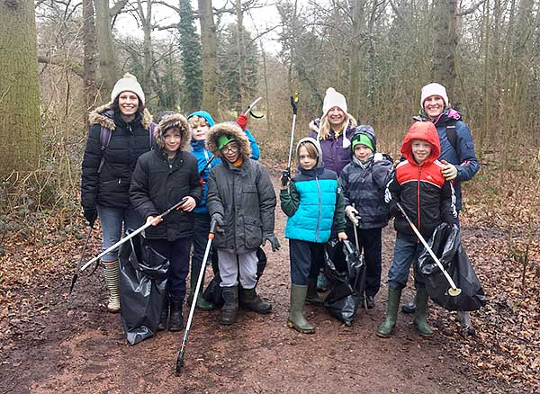 Theydon Cubs Litter Pick