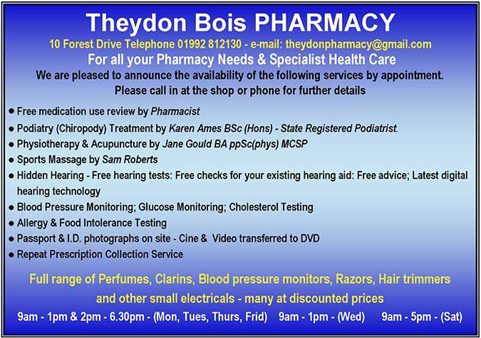 Theydon Pharmacy
